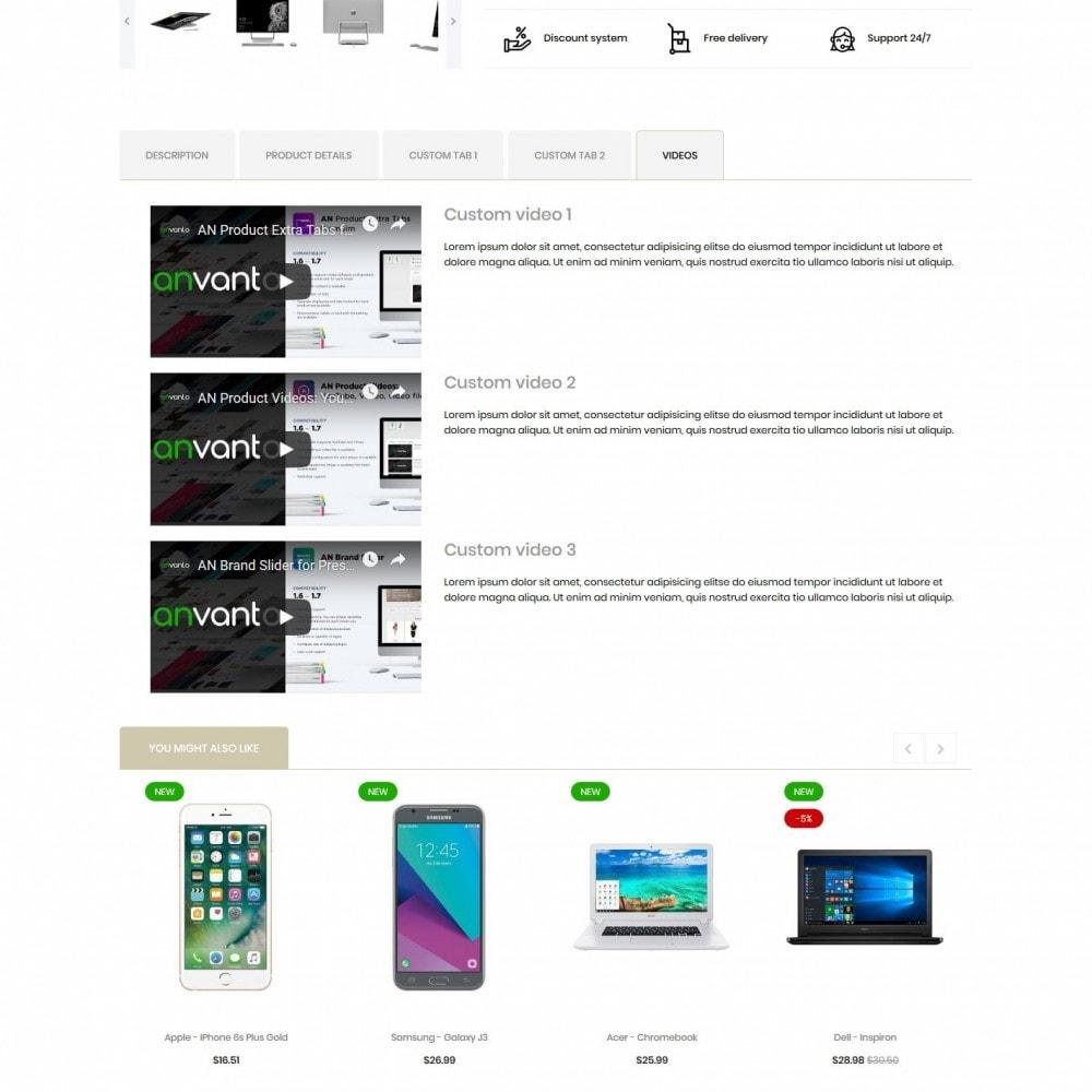 theme - Electronics & Computers - Chlorophytum - High-tech Shop - 9