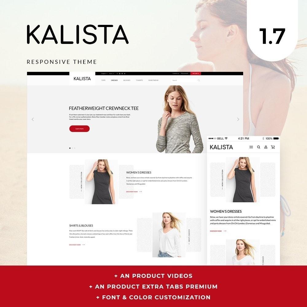 theme - Fashion & Shoes - Kalista Fashion Store - 1