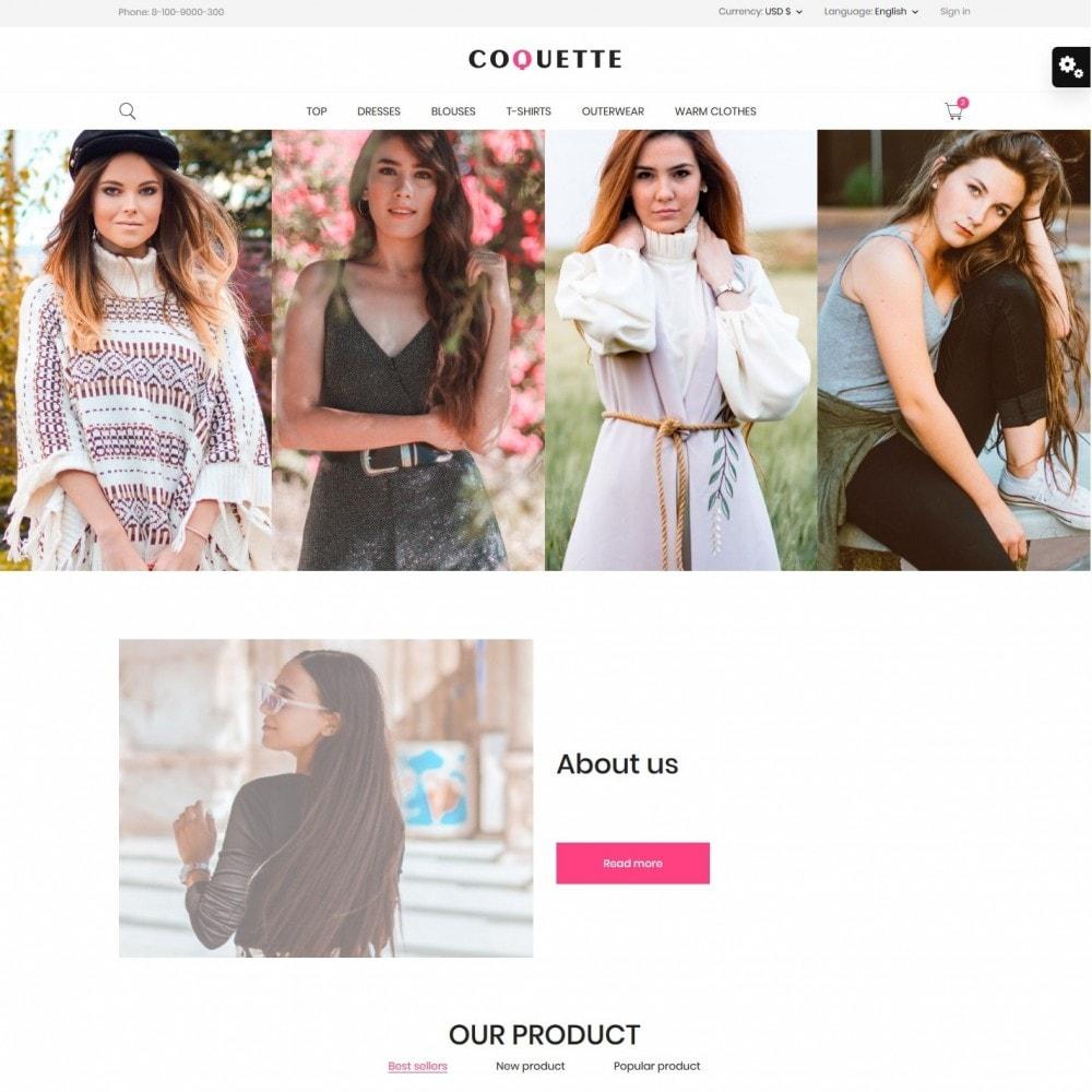 theme - Fashion & Shoes - Coquette Fashion Store - 2