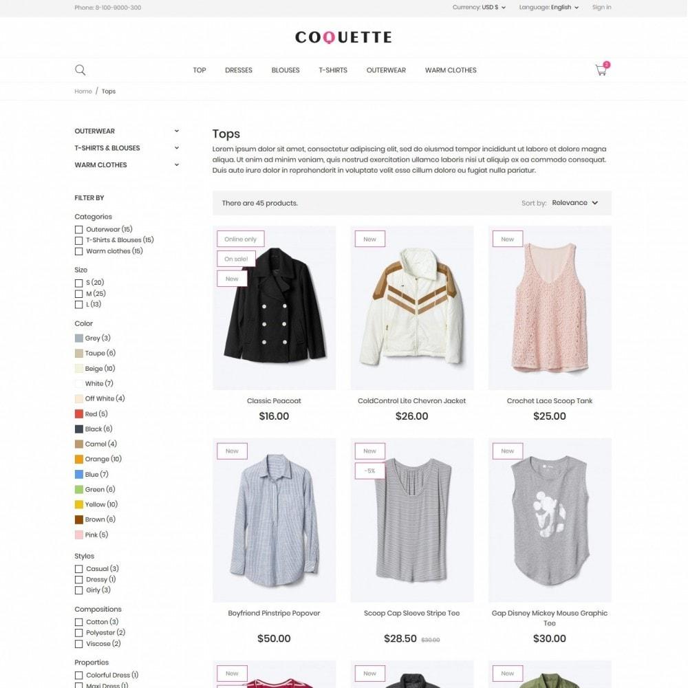 theme - Fashion & Shoes - Coquette Fashion Store - 5