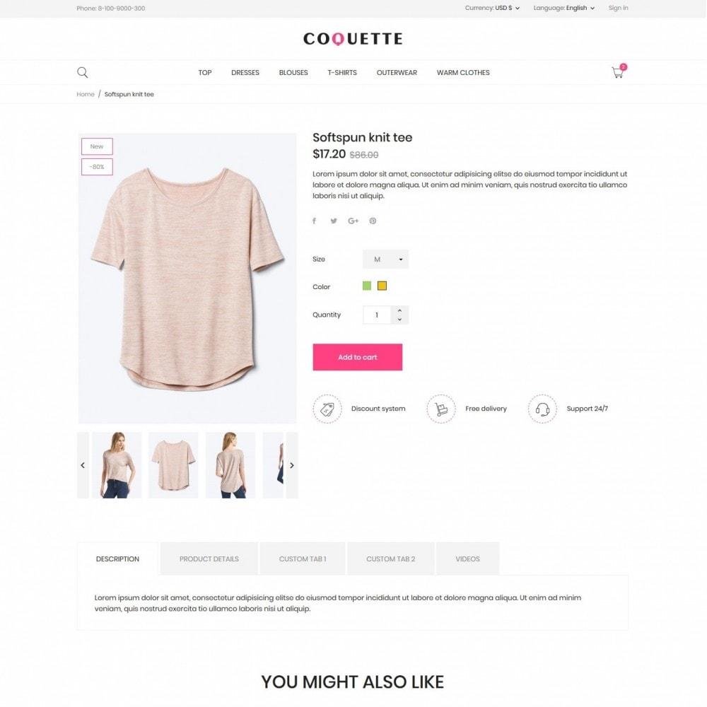 theme - Fashion & Shoes - Coquette Fashion Store - 6
