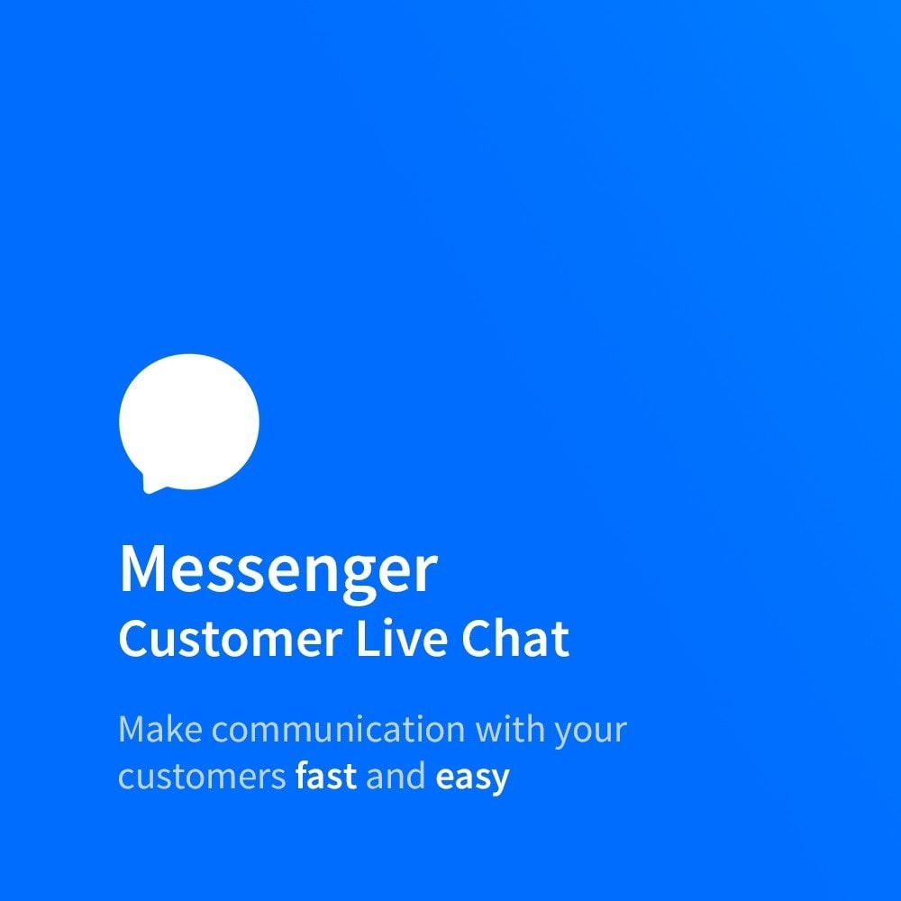 module - Supporto & Chat online - Messenger - Customer Live Chat - 1
