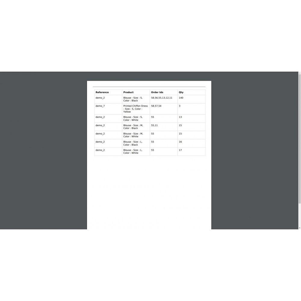 module - Gestion des Commandes - Mass Print Order Details - 7