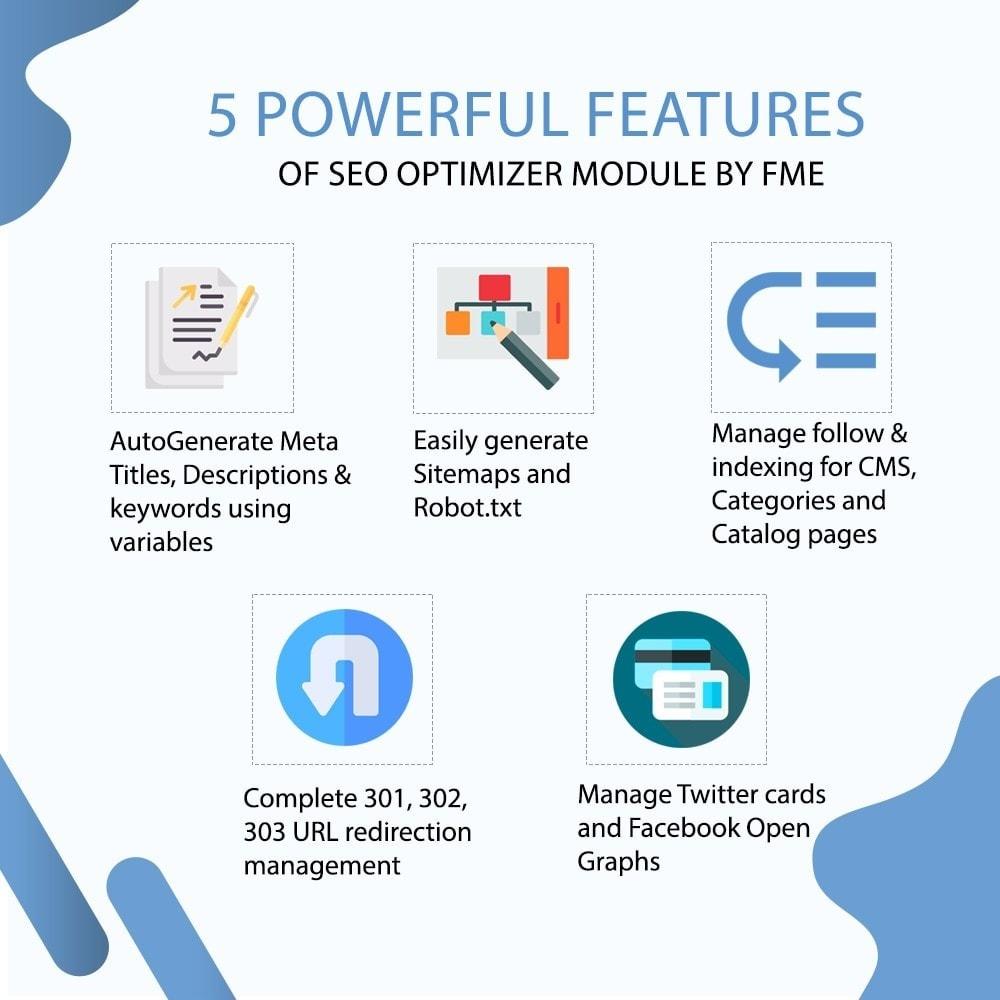 module - SEO (Indicizzazione naturale) - SEO Ottimizzatore - Meta, Sitemap, Reindirizzamenti URL - 2