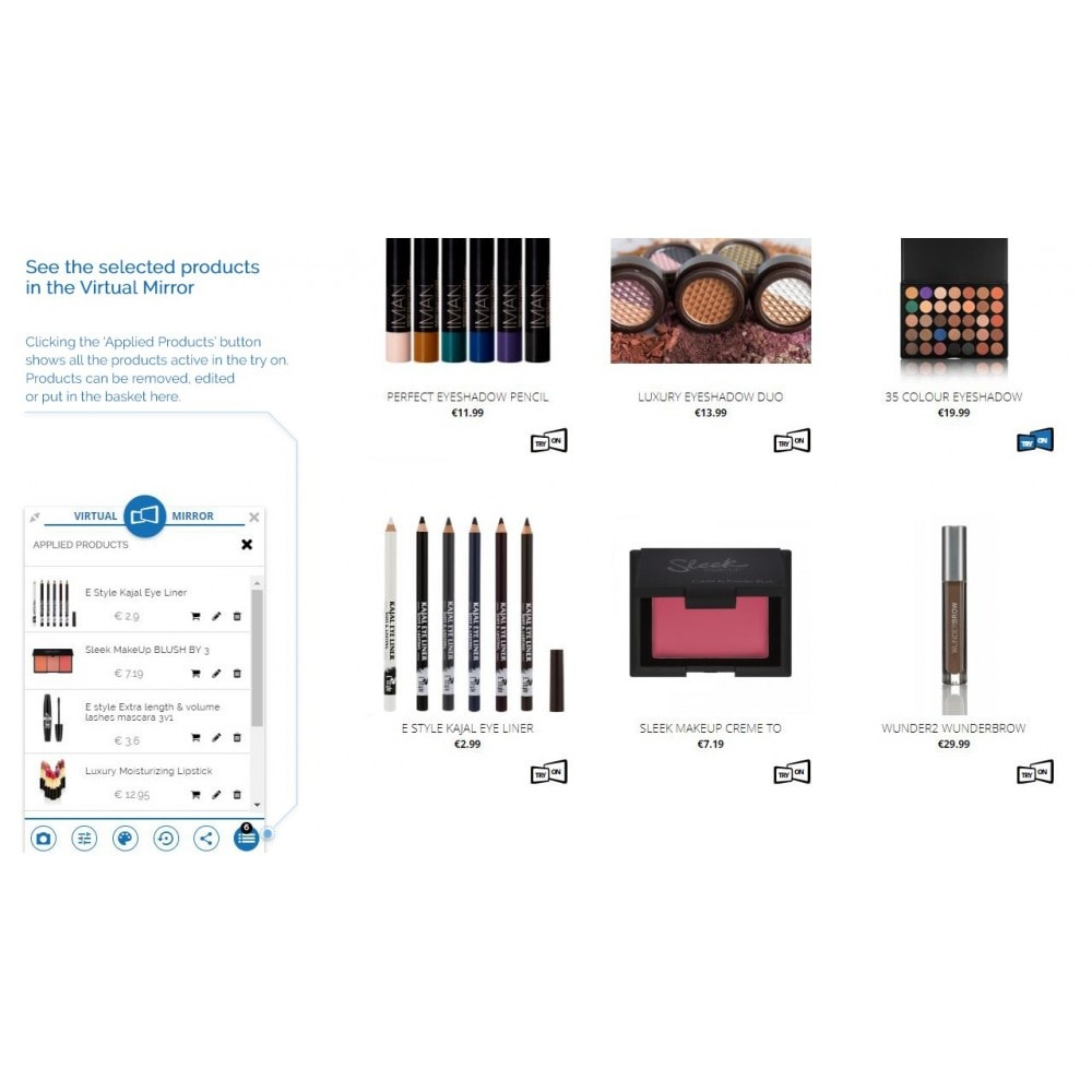 module - Produits virtuels (téléchargeables) - Magic Mirror: Makeup, Optics & Fashion - 3