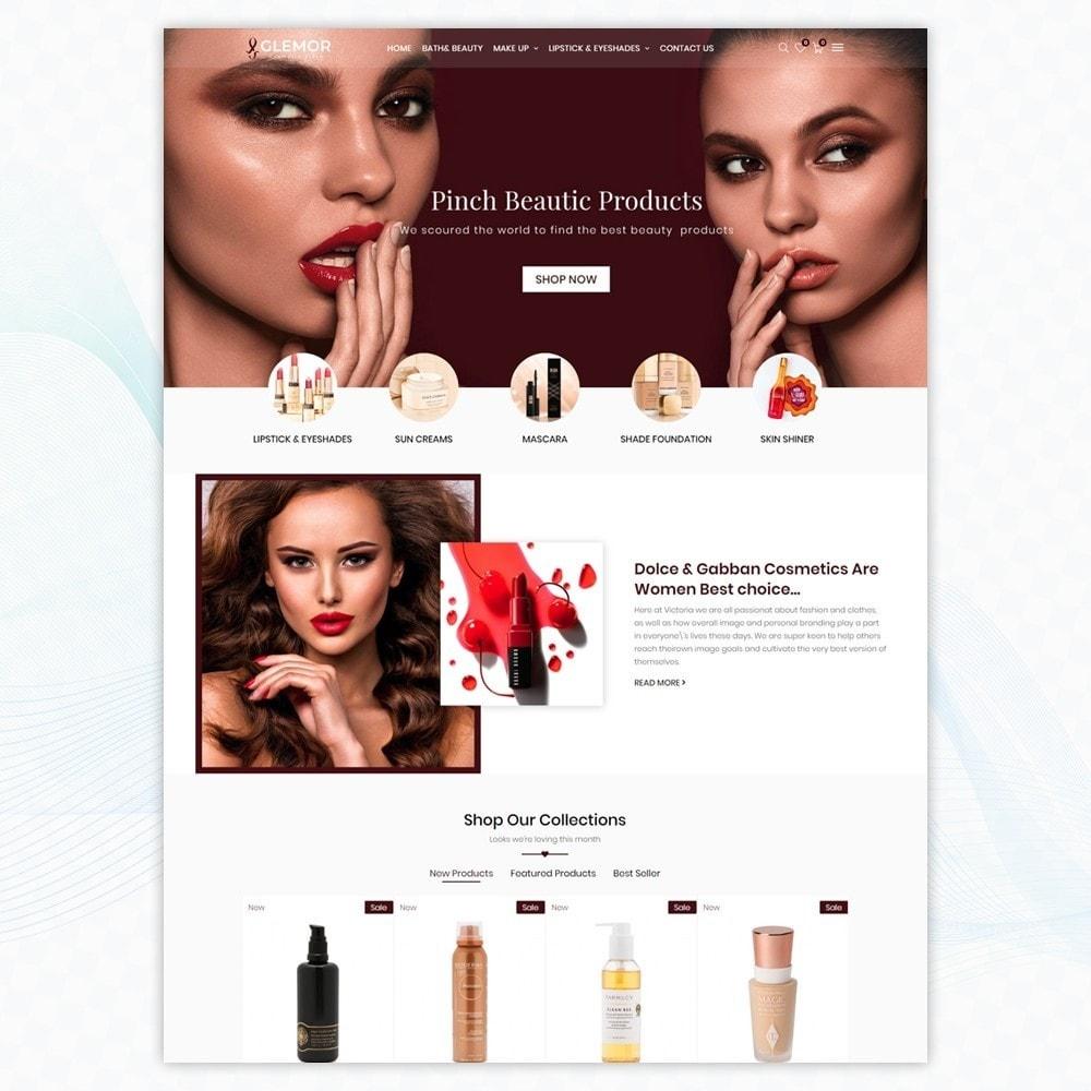 theme - Santé & Beauté - Glemor Cosmetic Store - 2