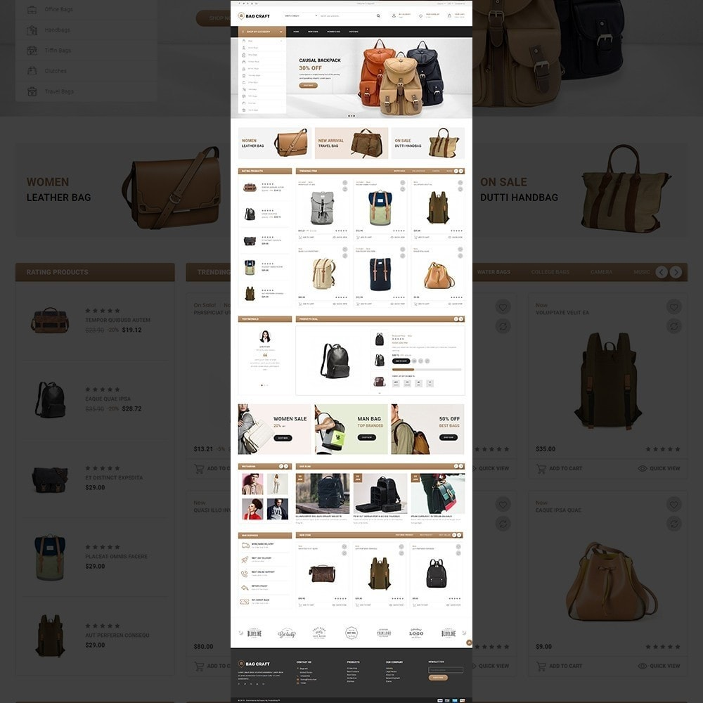 theme - Fashion & Shoes - Bags Craft - Multiporpose Mega Bag Store - 11