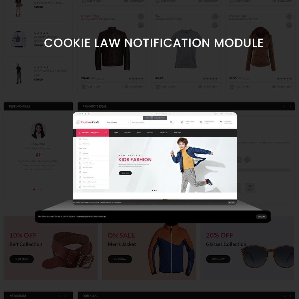 theme - Fashion & Shoes - Fashion Craft - Multipurpose Mega Fashion Store - 8