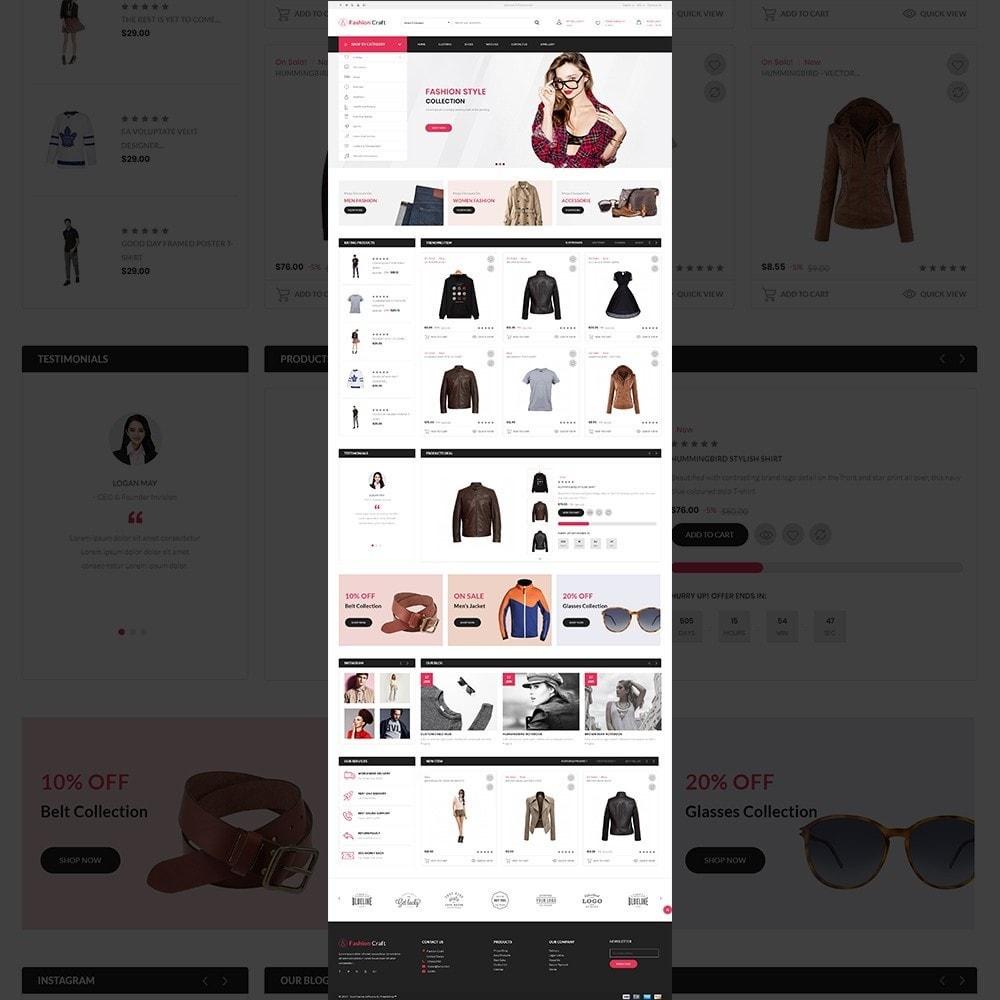 theme - Fashion & Shoes - Fashion Craft - Multipurpose Mega Fashion Store - 11