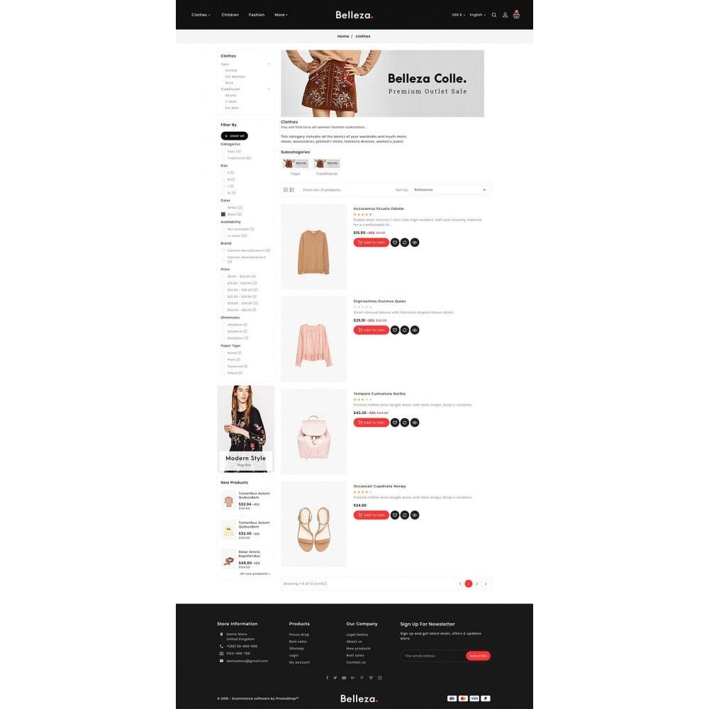 theme - Mode & Schuhe - Belleza - Fashion Apparels - 4