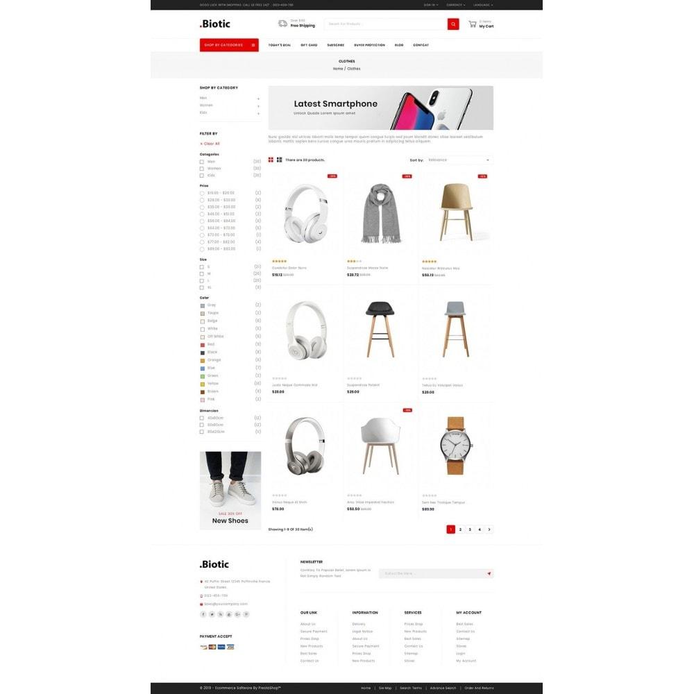 theme - Мода и обувь - Biotic - Multi Purpose Store - 3