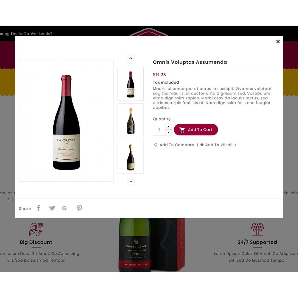 theme - Alimentos & Restaurantes - Wine & Drinks Shop - 7