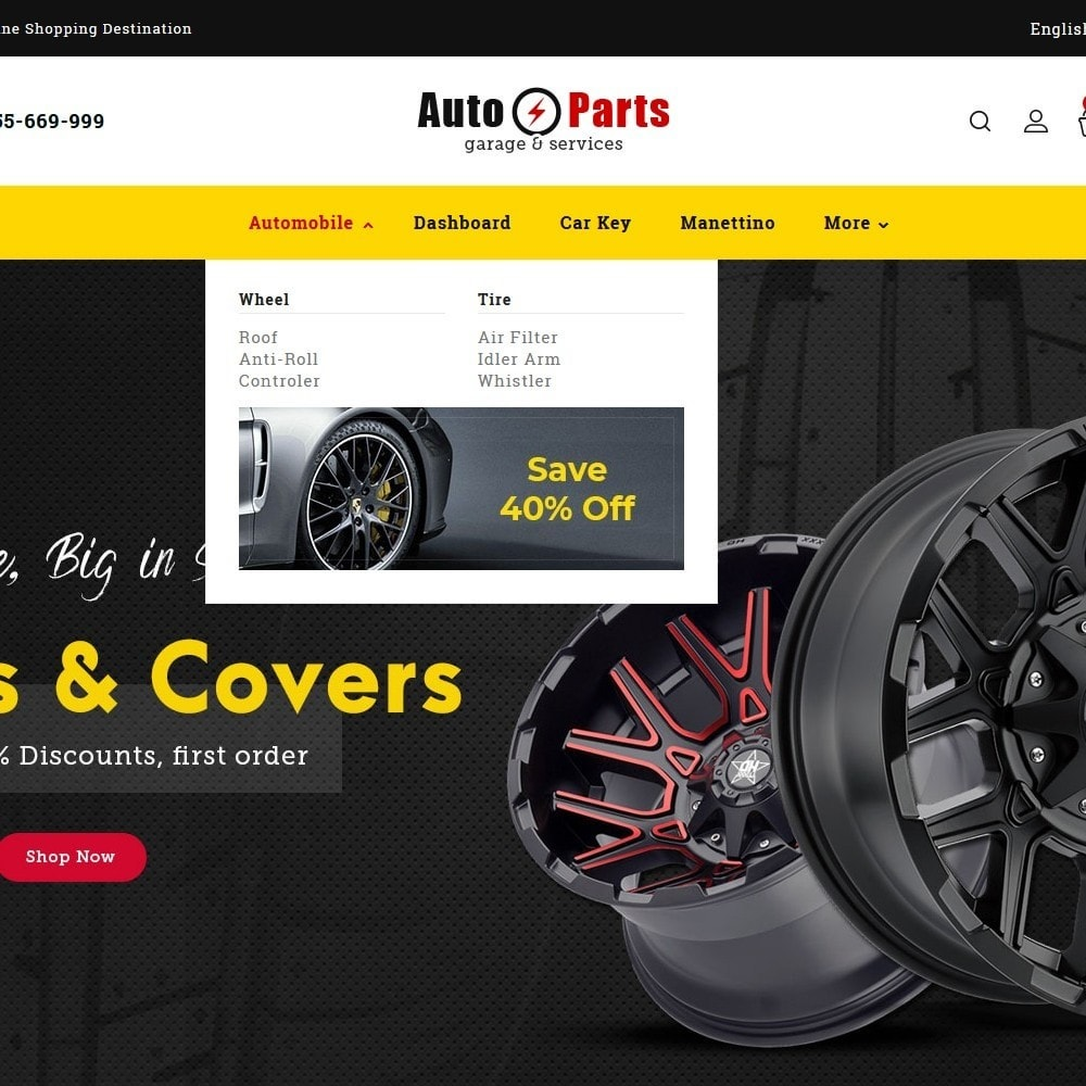 theme - Automotive & Cars - Auto Parts - 7