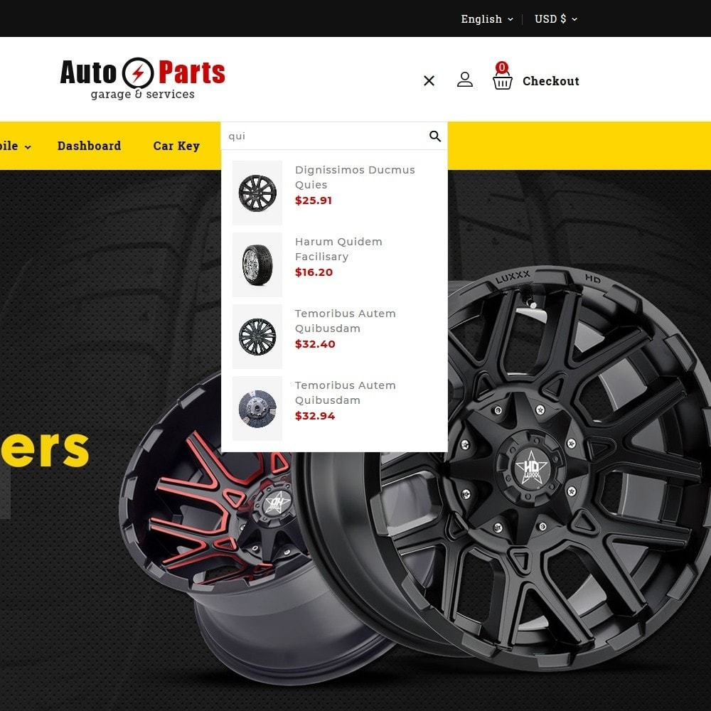 theme - Automotive & Cars - Auto Parts - 8