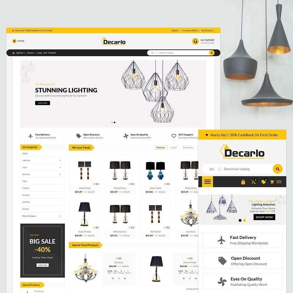 theme - Home & Garden - Decorelo - Lighting Shop - 2