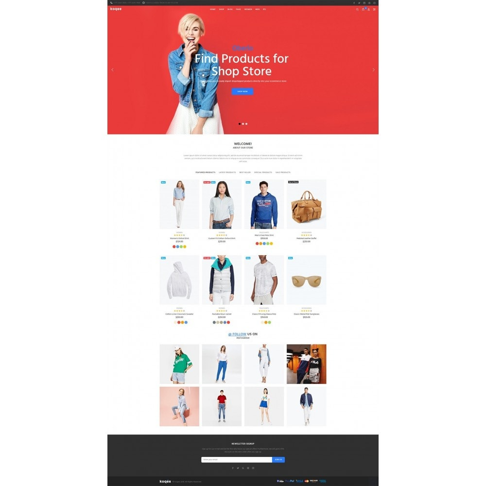 theme - Fashion & Shoes - Koqee - 13