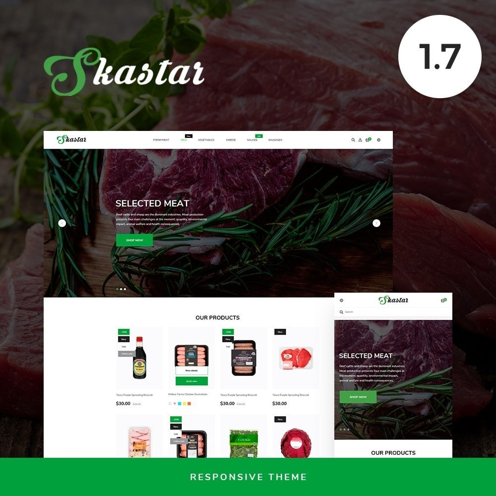theme - Lebensmittel & Restaurants - Skastar - 1