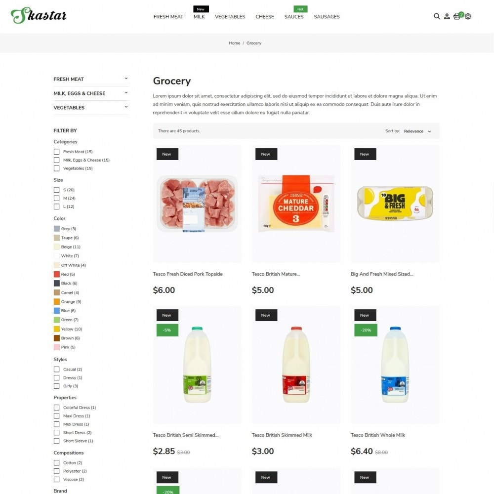 theme - Lebensmittel & Restaurants - Skastar - 5