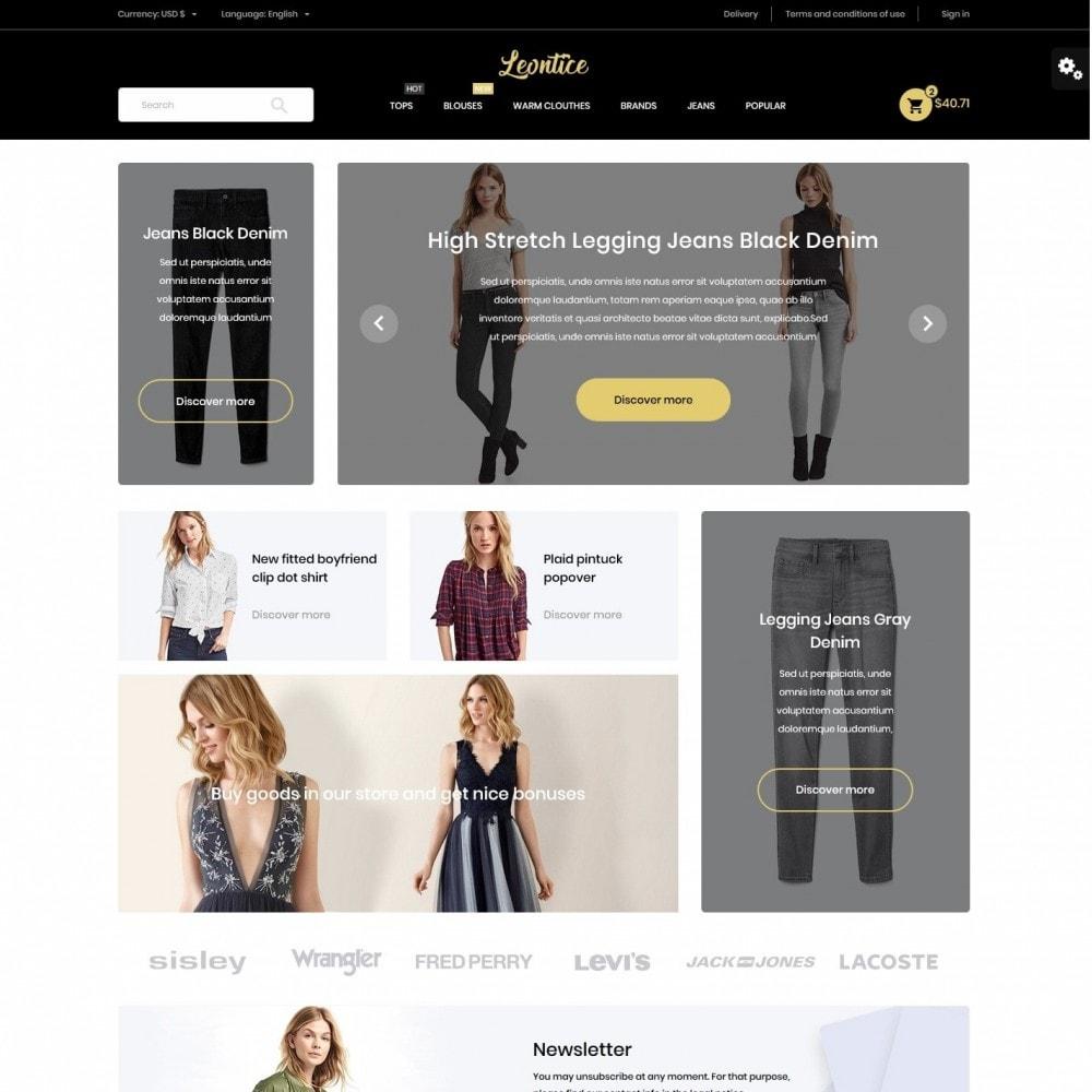theme - Fashion & Shoes - Leontice Fashion Store - 2
