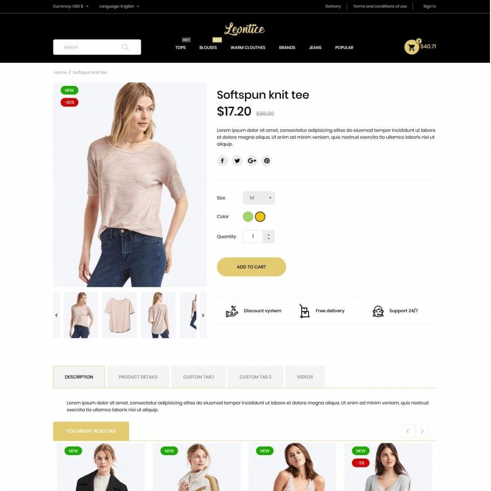 theme - Fashion & Shoes - Leontice Fashion Store - 6