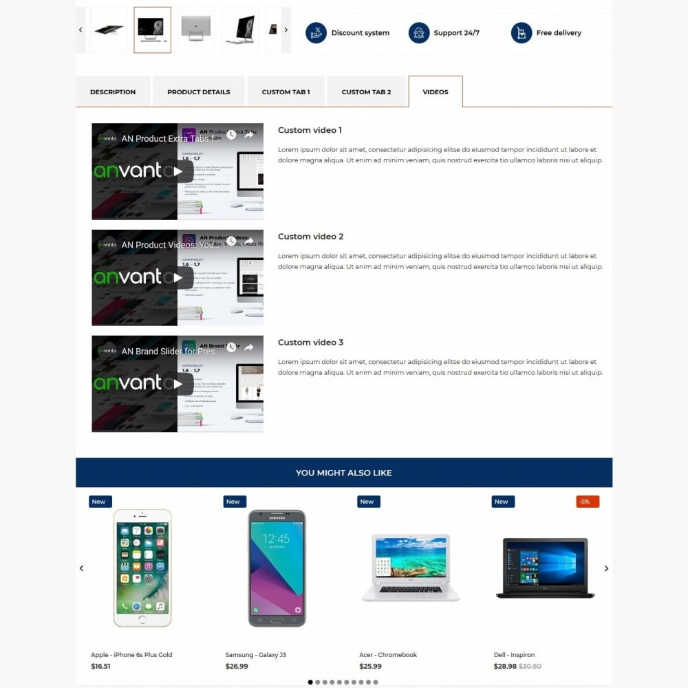 theme - Electronics & Computers - Smartzone - High-tech Shop - 9