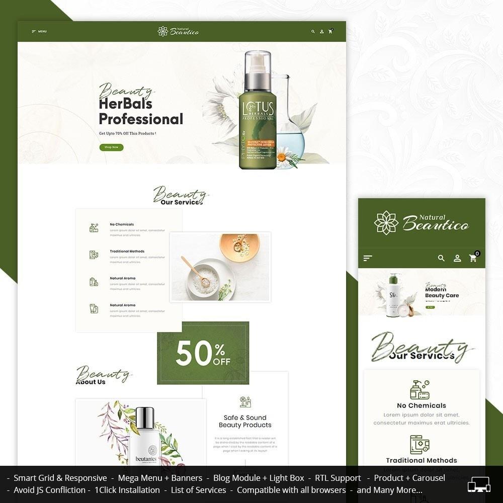 theme - Zdrowie & Uroda - Beautico Cosmetics Shop - 1