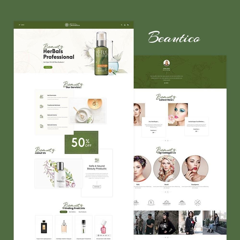 theme - Zdrowie & Uroda - Beautico Cosmetics Shop - 2