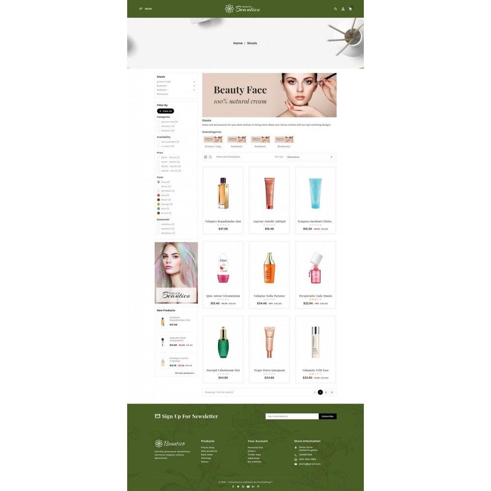 theme - Zdrowie & Uroda - Beautico Cosmetics Shop - 3