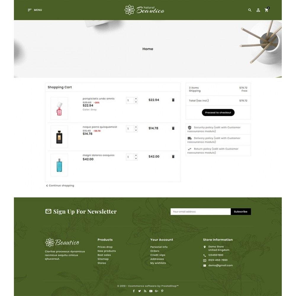 theme - Zdrowie & Uroda - Beautico Cosmetics Shop - 6