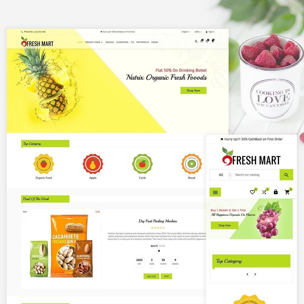 theme - Lebensmittel & Restaurants - Fresh Mart Organic Food Big Super Store - 2
