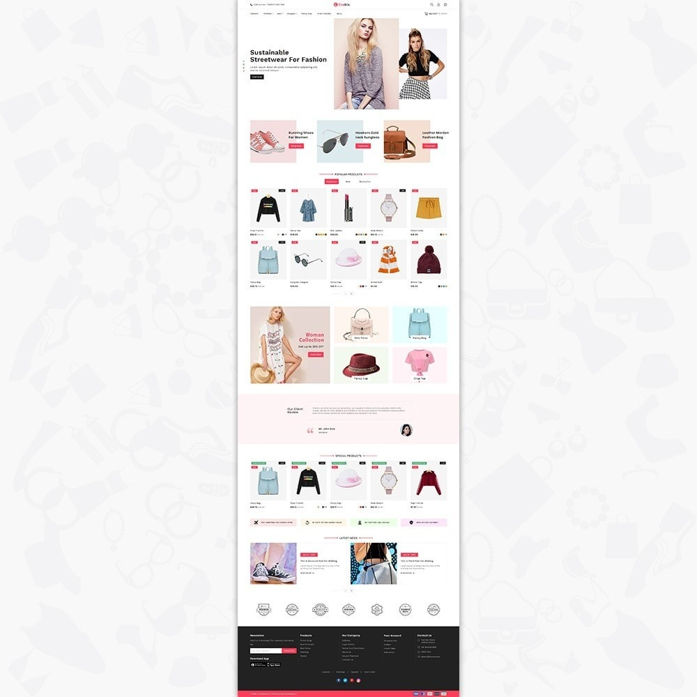 theme - Home & Garden - Caxos - The Fashion Store - 2