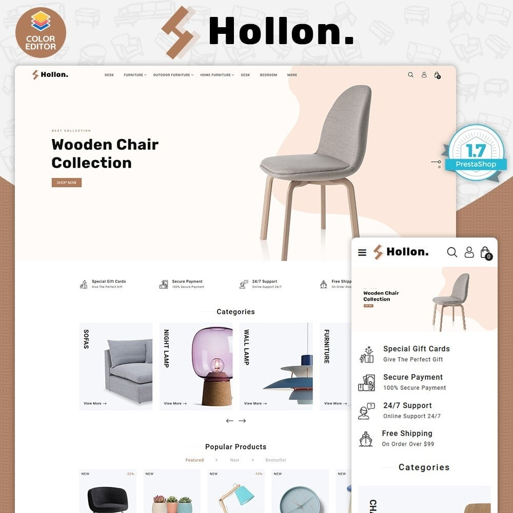 theme - Home & Garden - Hallon -  The  Furniture Store - 1