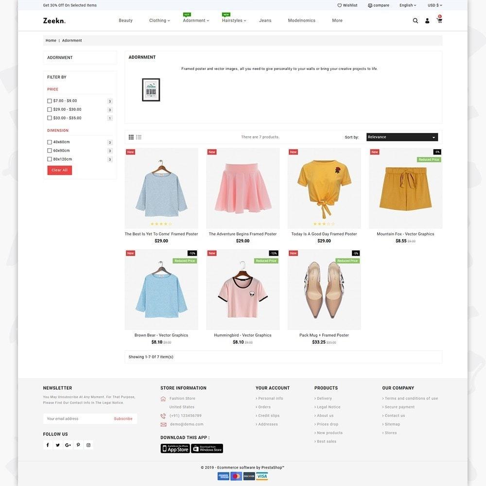 theme - Fashion & Shoes - Zeekn  -  The Furniture Store - 3
