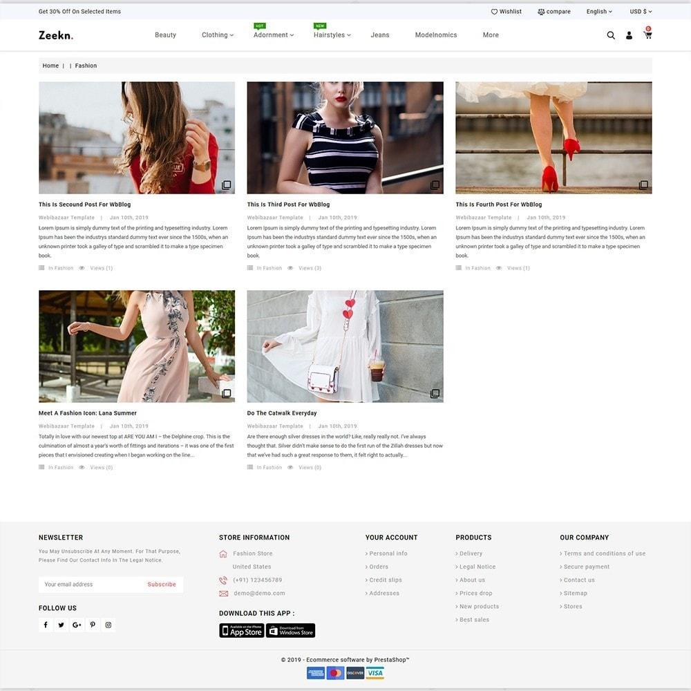theme - Fashion & Shoes - Zeekn  -  The Furniture Store - 6