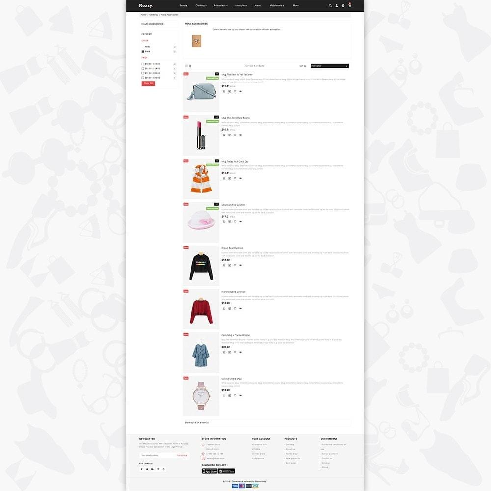 theme - Fashion & Shoes - Rozzy - The Fashion Store - 4
