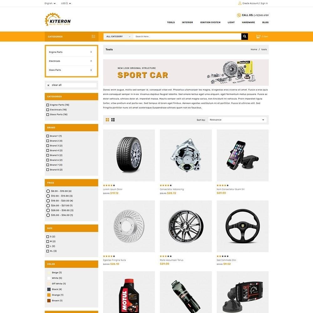 theme - Automotive & Cars - Kiteron Auto Parts - 3