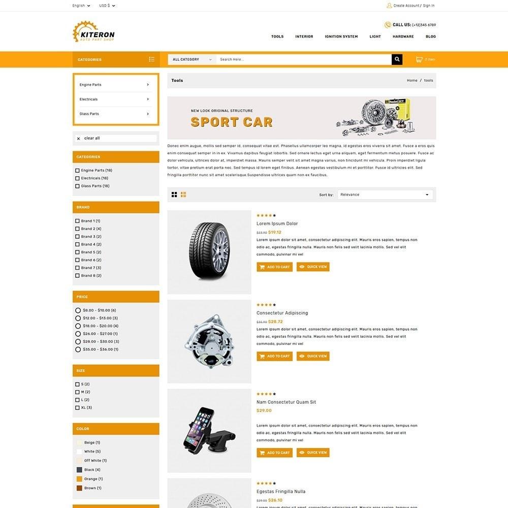 theme - Automotive & Cars - Kiteron Auto Parts - 4