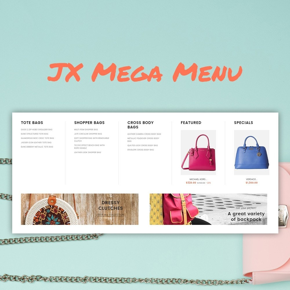 theme - Fashion & Shoes - Vente - Handbag Store - 3