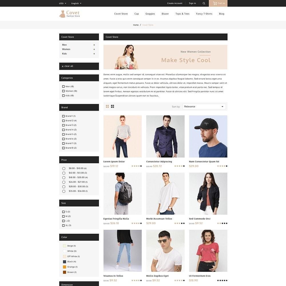 theme - Fashion & Shoes - Covet Fashion Shop - 3