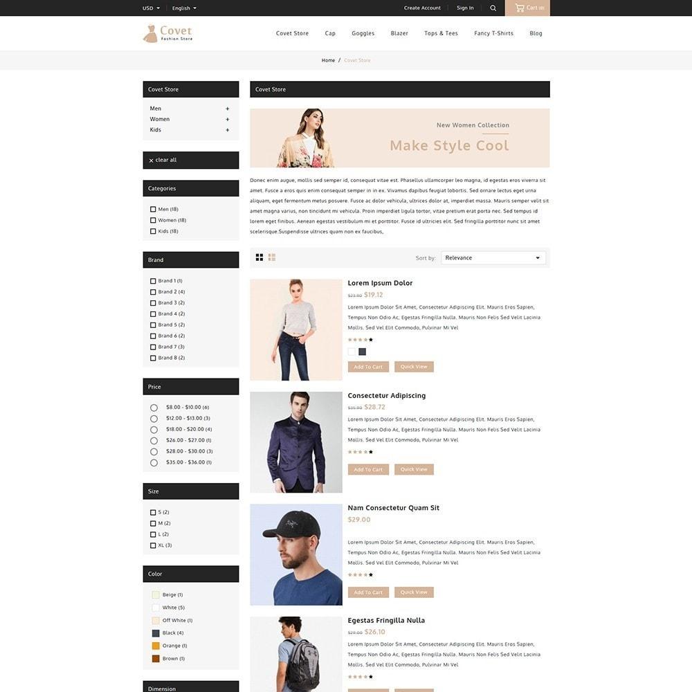 theme - Fashion & Shoes - Covet Fashion Shop - 4