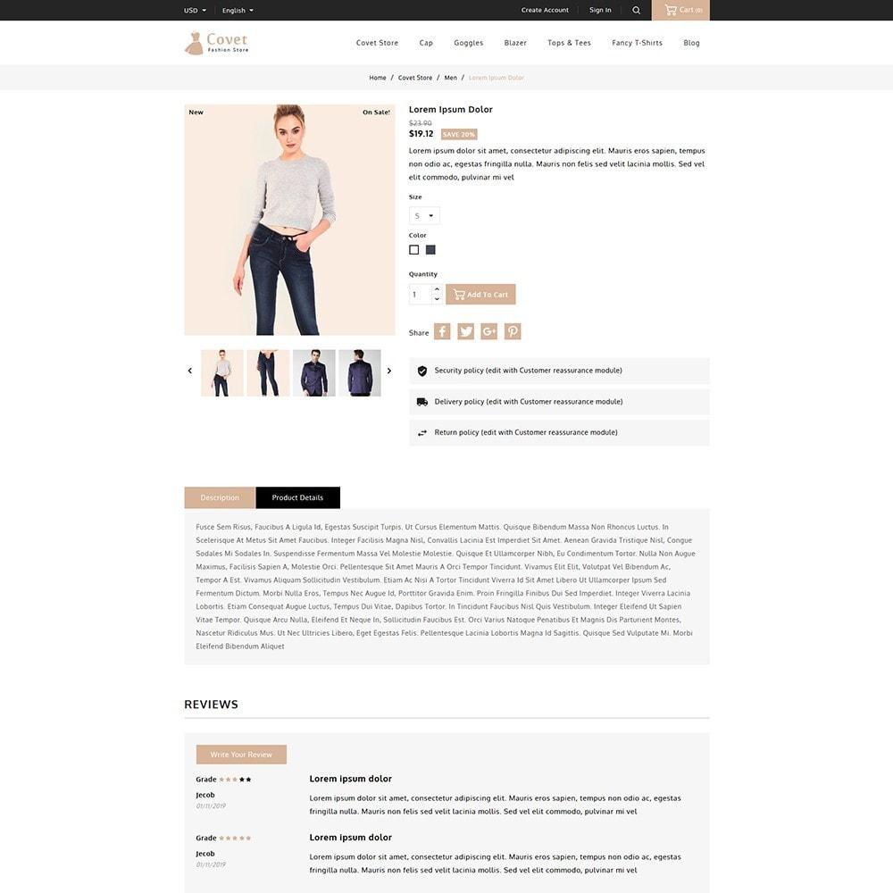theme - Fashion & Shoes - Covet Fashion Shop - 5
