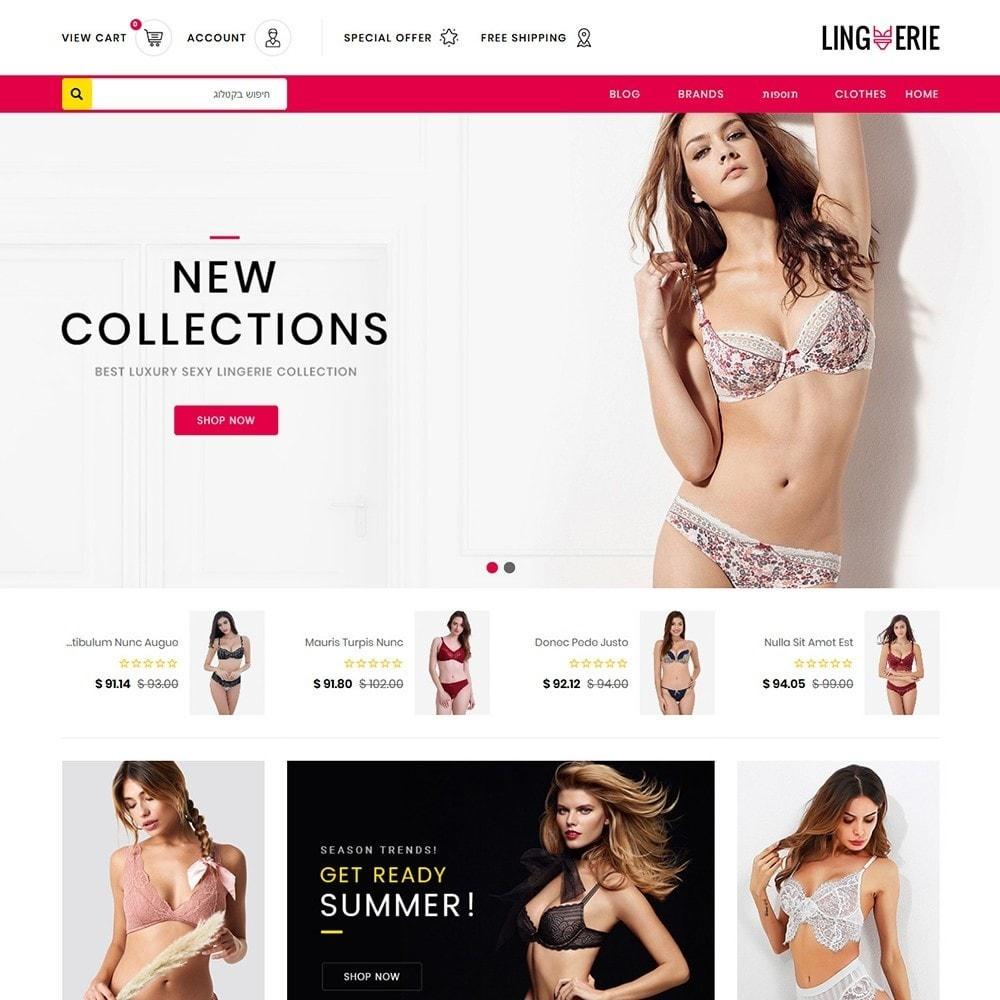theme - Lenceria y Adultos - Lingerie Store - 3