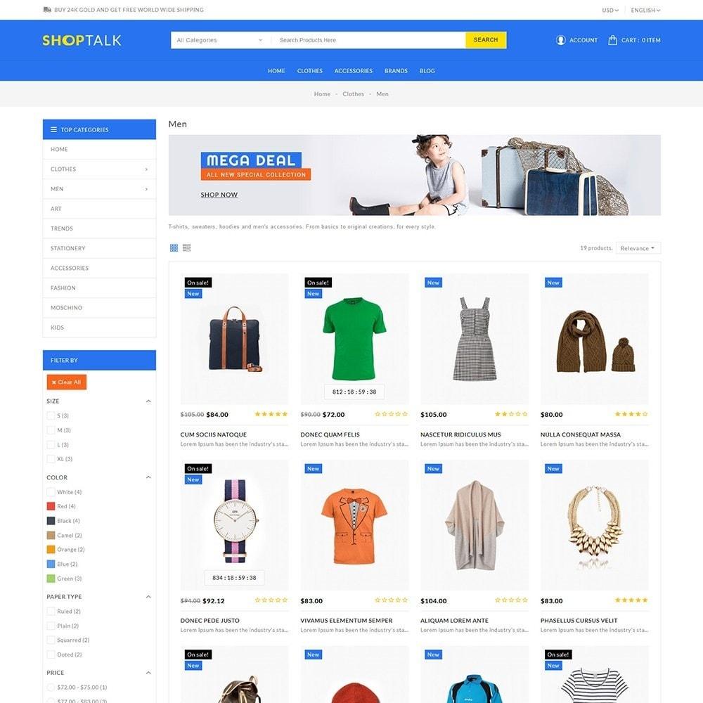 theme - Fashion & Shoes - Shoptalk Fashion Store - 4