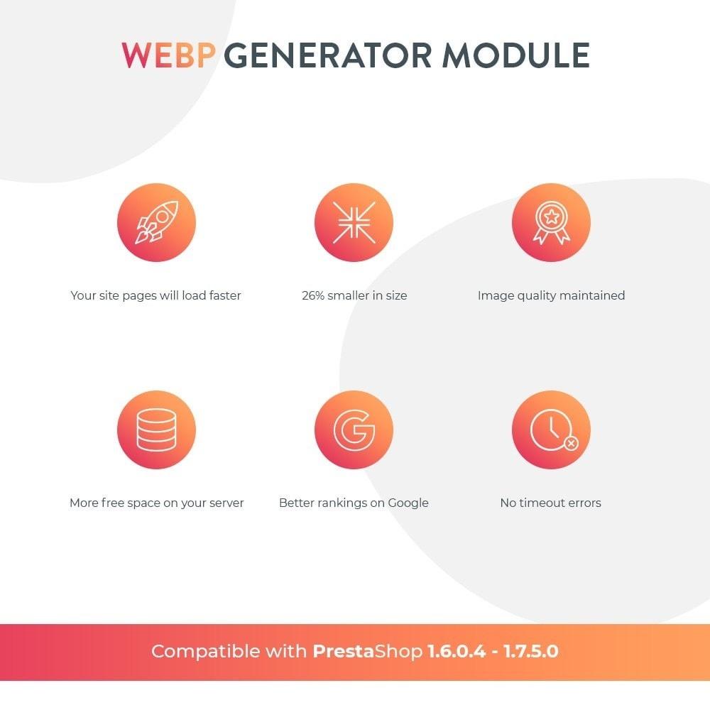 module - Visualizzazione Prodotti - Google WebP Immagine Generatore - Aggiornamento 2020 - 2