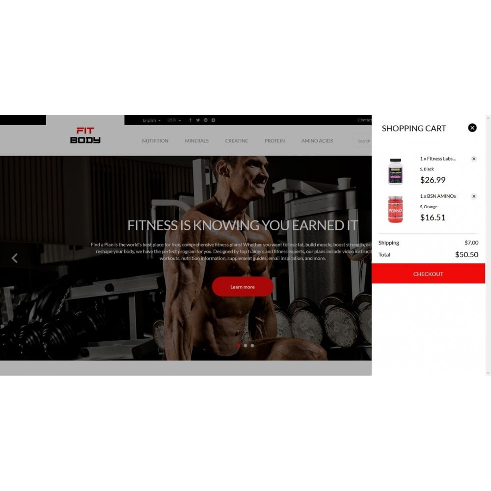theme - Sports, Activities & Travel - Fit body - 7