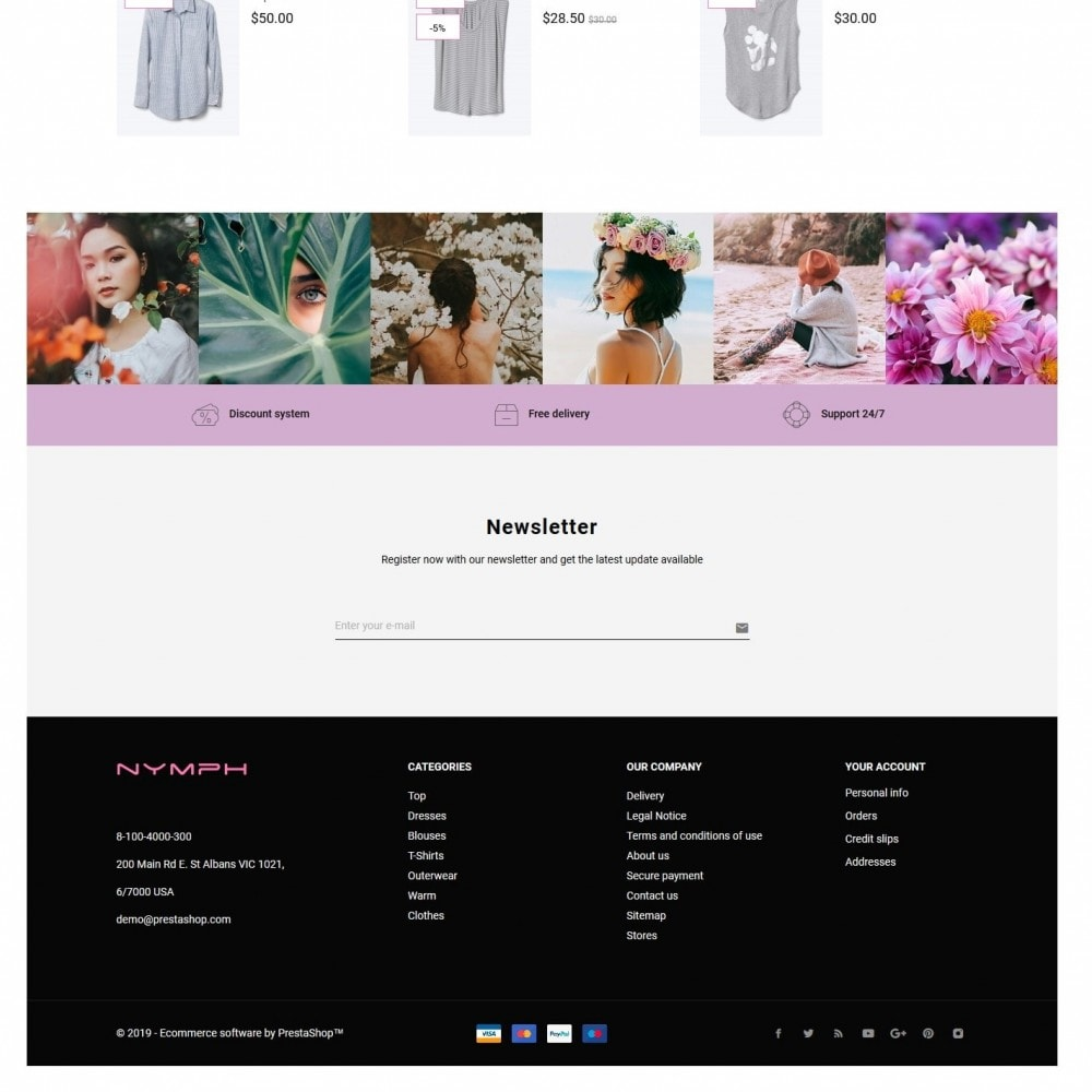 theme - Fashion & Shoes - Nymph Fashion Store - 4