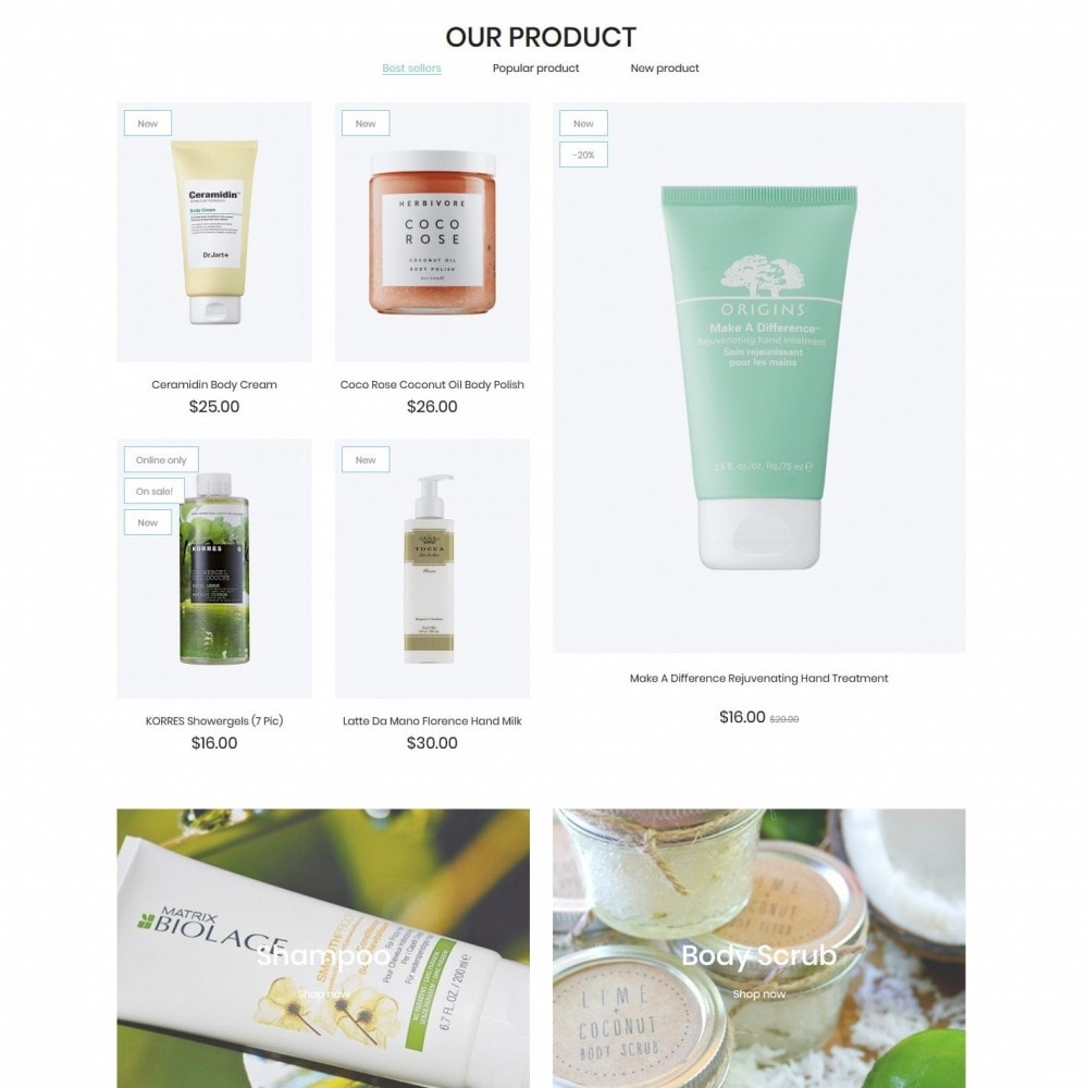 theme - Health & Beauty - Planet of herbs Cosmetics - 3