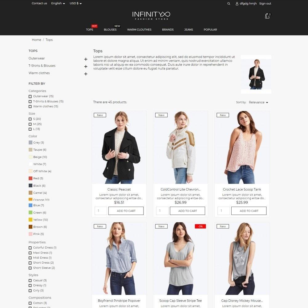 theme - Fashion & Shoes - Infinity Fashion Store - 5