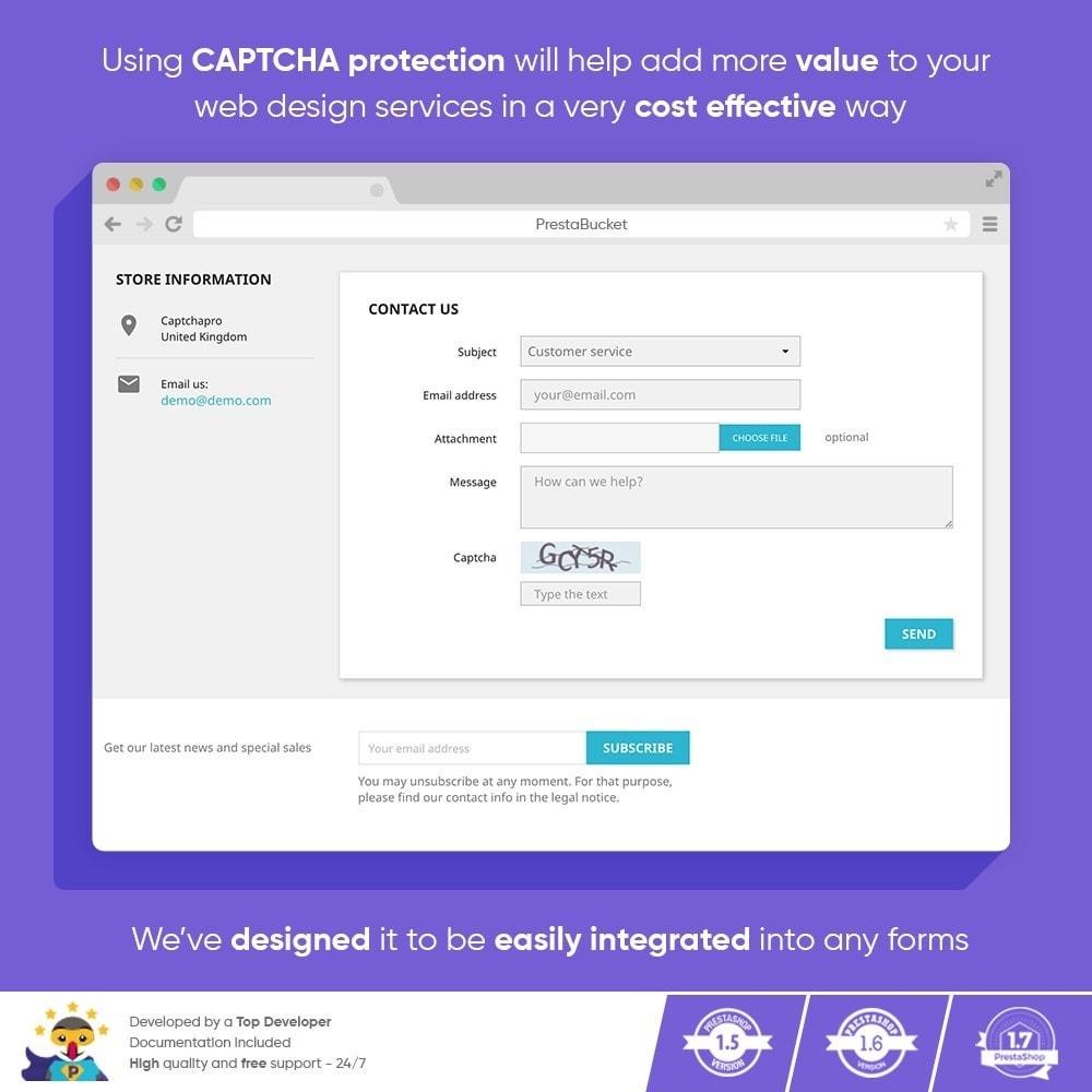 module - Security & Access - Ultimate Math CAPTCHA / Enhanced Anti Spam Security - 2