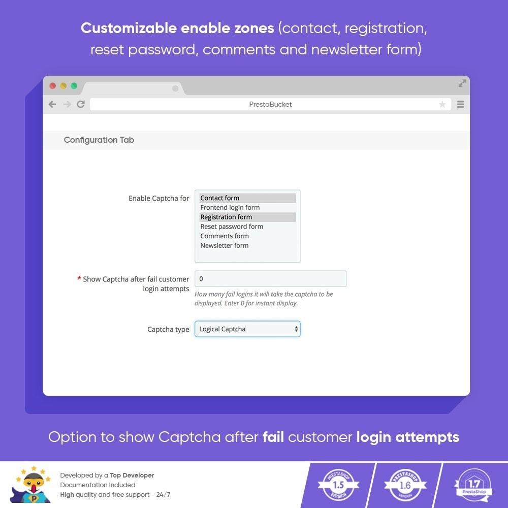 module - Security & Access - Ultimate Math CAPTCHA / Enhanced Anti Spam Security - 3